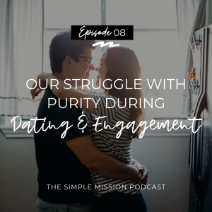 This week's episode was not easy for us to record. For Christian couples or married couples, it is easy to share about our lives together when it is happy, positive, and in accordance to God's Word. But, what about the dark side of the purity struggle we Christians go through during dating and engagement? No one talks about that. Some people pursuing God together in relationships feel alone in this struggle. Many people are willing to share everything they did right, but seldom do we share about what we have done wrong and where to go from there.