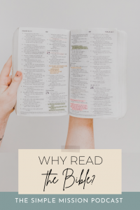 Why read the Bible? Isn't it outdated and written by people who have been dead for centuries? How is it relevant to me today? We first have to understand: what is the Bible?   We go over a brief overview on the Bible, like what's in the Old Testament and the New Testament, and why they still matter today. We also share some quick tips on how to get started on reading the Bible if you are a new believer and have never touched a Bible or if you are a longtime believer who want a more stronger relationship with God.
